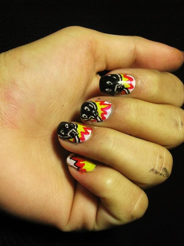 Exploding Bombs Nails
