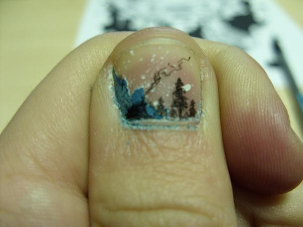 iceland on nail 40 Cool Nail Designs You Will Love
