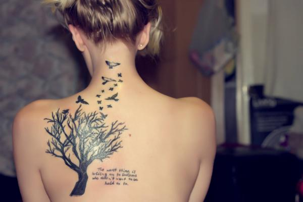 my tattoo 35 Tremendously Cool Tattoos For Girls