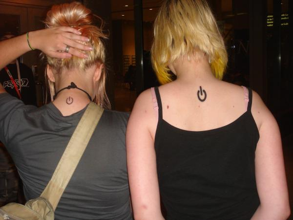 power symbol tattoo 35 Tremendously Cool Tattoos For Girls