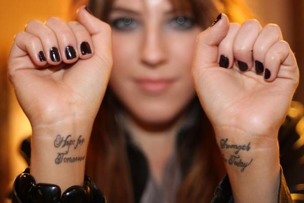 strength for today 35 Tremendously Cool Tattoos For Girls