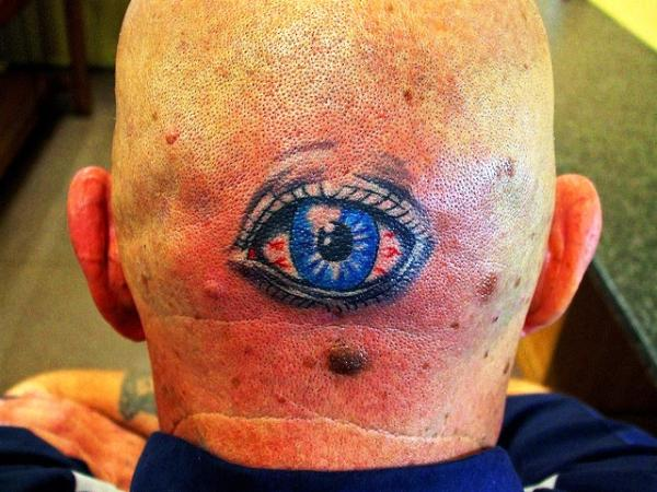 crazy eye 35 Awesomely Crazy Tattoos