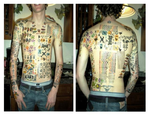 full crazy 35 Awesomely Crazy Tattoos
