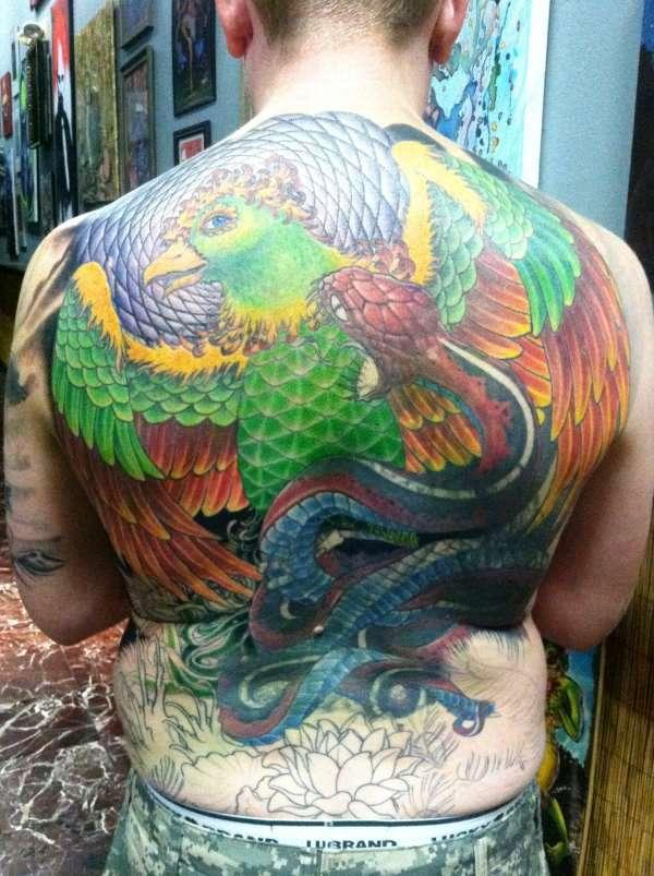 phoenix rising tattoo 35 Awesomely Crazy Tattoos