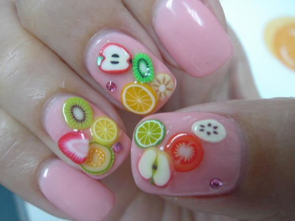 Fruit Gel Nails