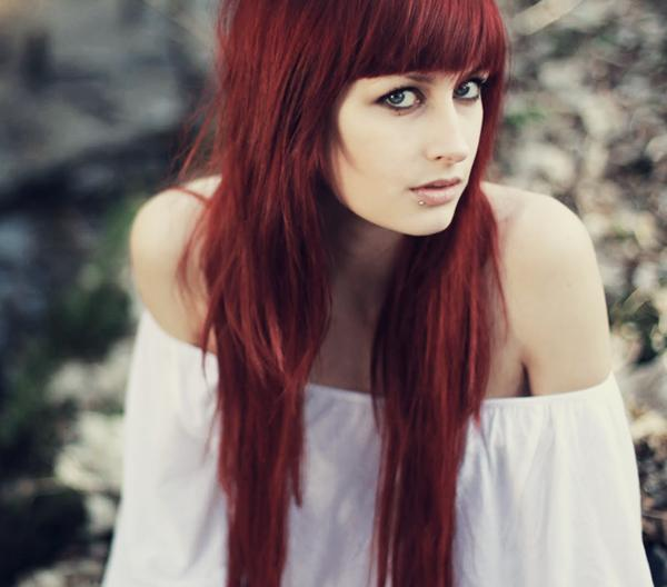 appealing red hair 40 Gorgeous Easy Hairstyles For Long Hair