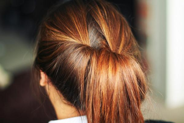 half tied hair 40 Gorgeous Easy Hairstyles For Long Hair
