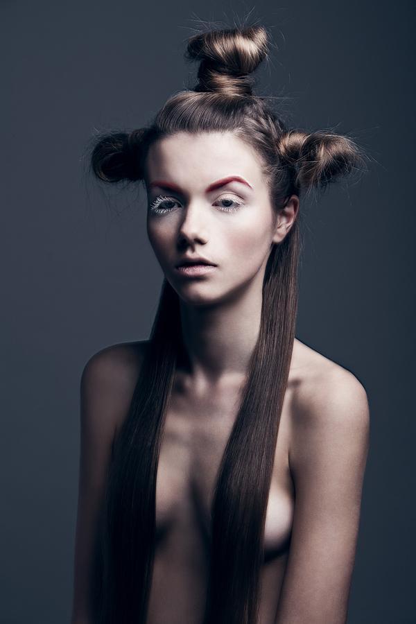 Plus Symbol Long Hair