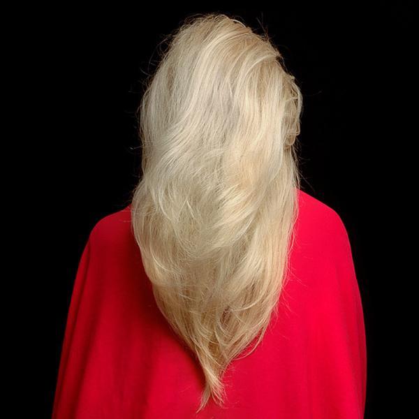 V Shaped Long Hair