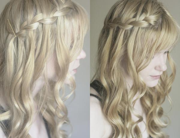 waterfall braids 40 Gorgeous Easy Hairstyles For Long Hair
