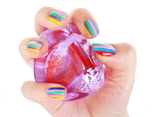 funky nails 40 Easy Nail Designs You Can Try Any Day