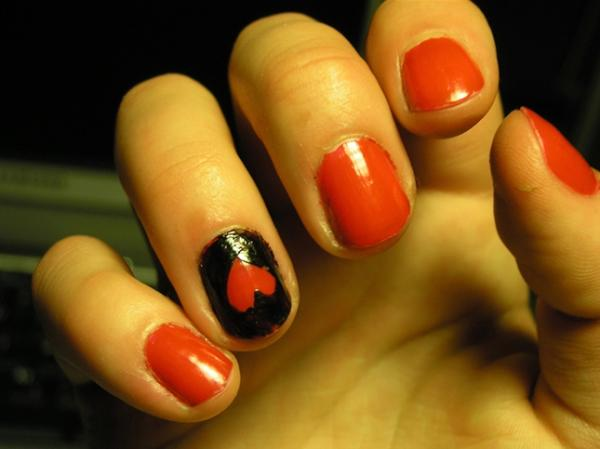 nail heart 40 Easy Nail Designs You Can Try Any Day