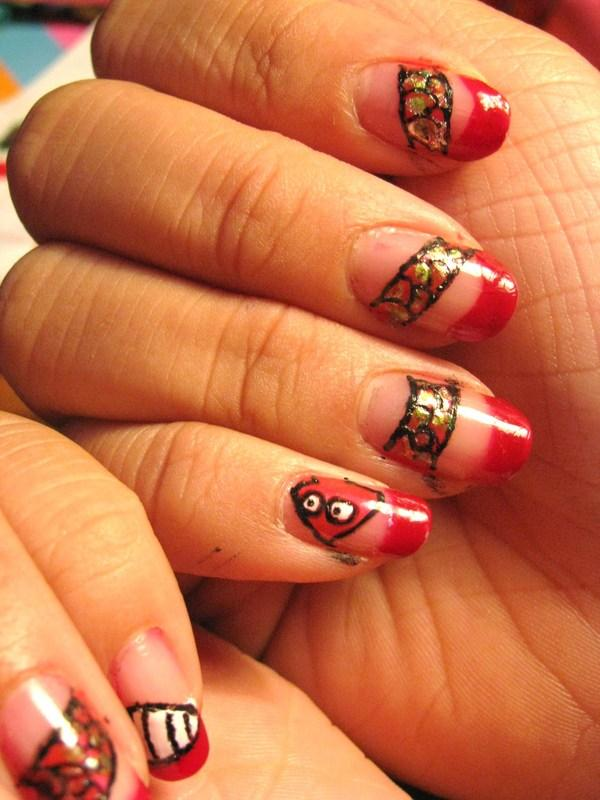 Tipper Nail Design