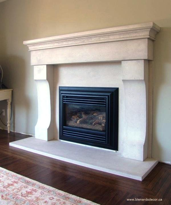 Fireplace Mantel Limestone