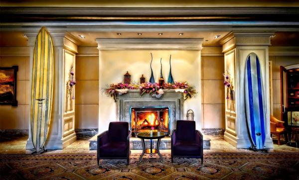 Ritz-Carlton Fireplace