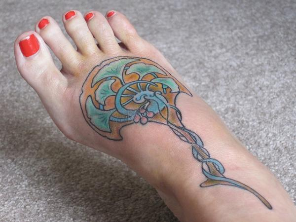 nouveau fan 35 Sexy Foot Tattoos For Girls