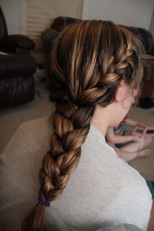 French Braid Hairstyles 35 Graceful Collections Slodive
