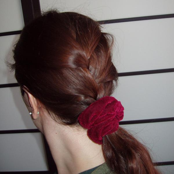 35 graceful french braid hairstyles slodive french braid ponytail ccuart Choice Image