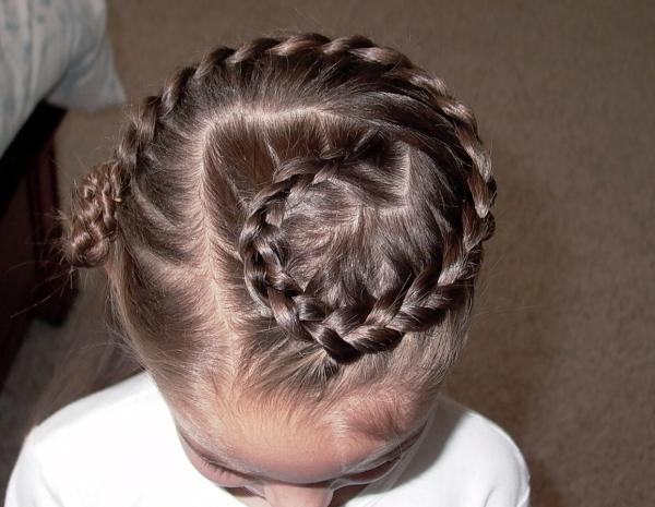 G Shaped French Braided Hair