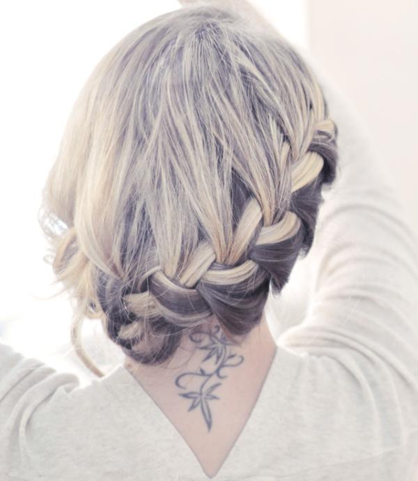 Fine 35 Graceful French Braid Hairstyles Slodive Hairstyles For Men Maxibearus