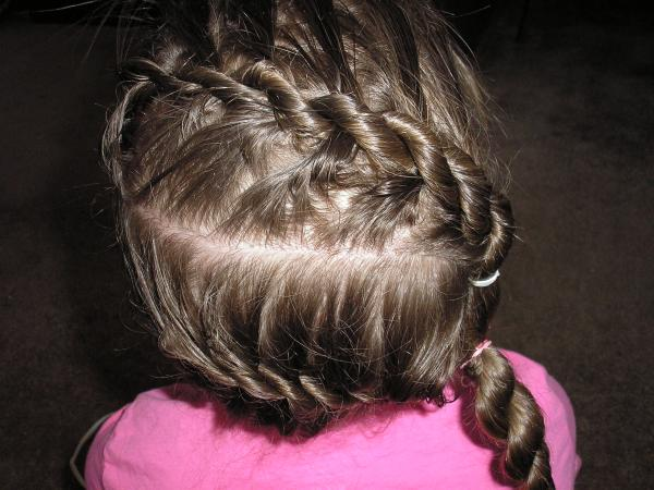 Rope Format French Braid