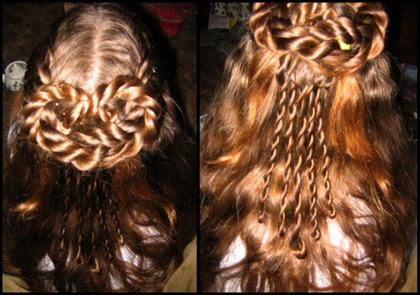 Rope Looped French Braid