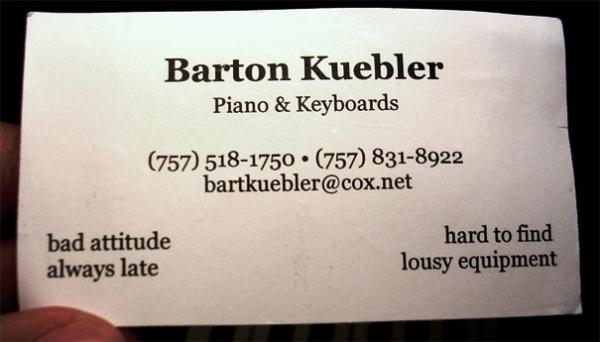 bart business card 30 Funny Business Cards You Should Check Today