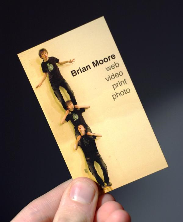 brain moore 30 Funny Business Cards You Should Check Today