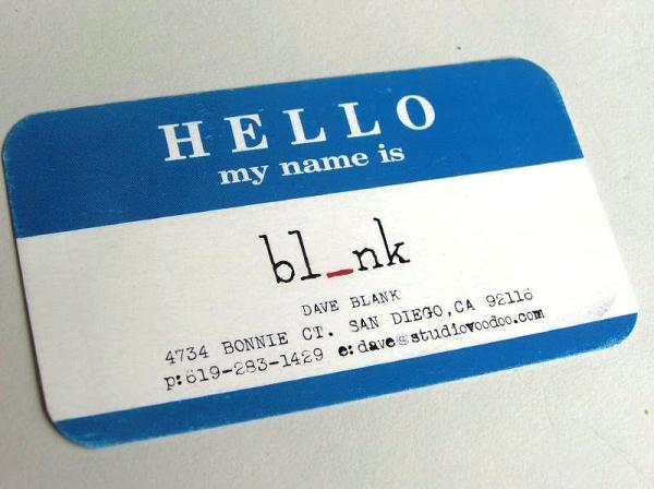 dave blank 30 Funny Business Cards You Should Check Today
