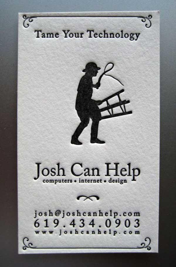josh 30 Funny Business Cards You Should Check Today