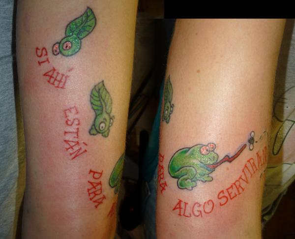 Funny Style Tattoo