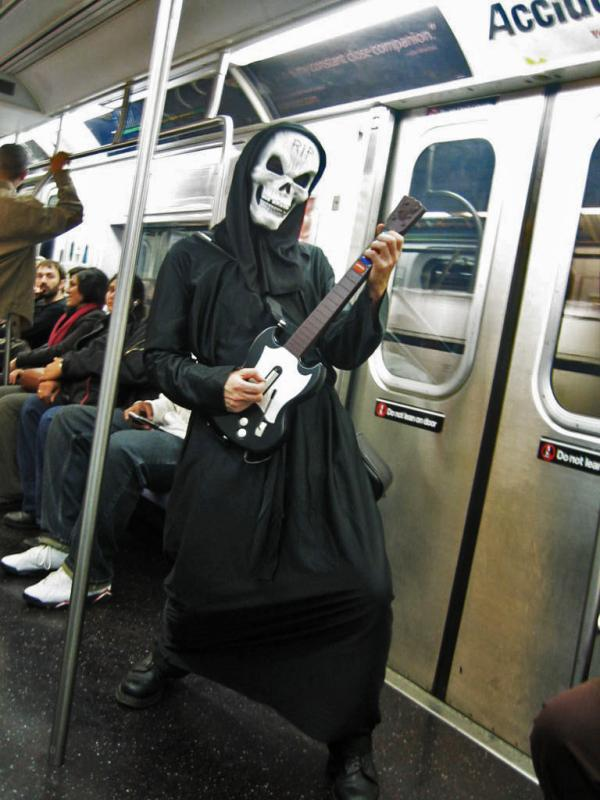 Grim Reaper From Guitar Hero