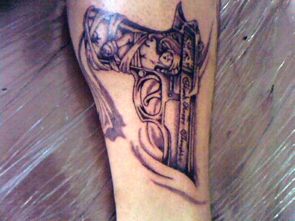 Old Gun Tattoo