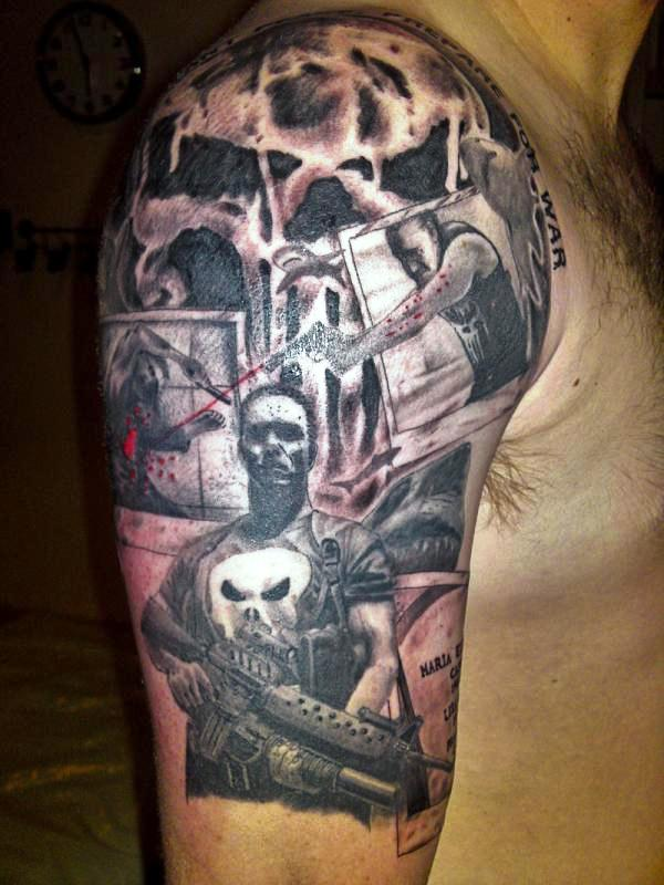 war guns 30 Killer Gun Tattoos