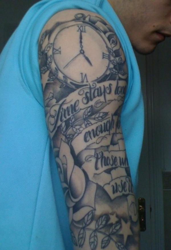 30 Groovy Half Sleeve Tattoos For Men - SloDive