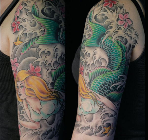 Mermaid Tattoo