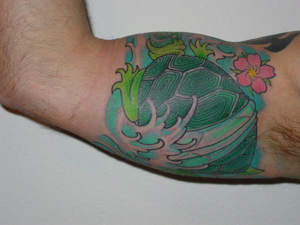 Turtle Half Sleeve