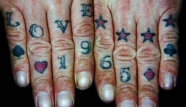 love 1965 40 Awesome Hand Tattoos