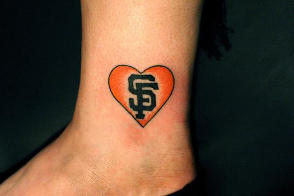 Saint Francisco Heart Tattoo