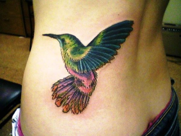 custom hummingbird 35 Cool Hummingbird Tattoos