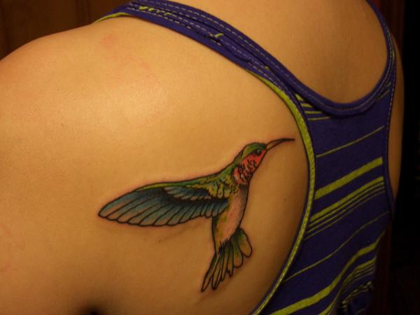 my tattoo 35 Cool Hummingbird Tattoos