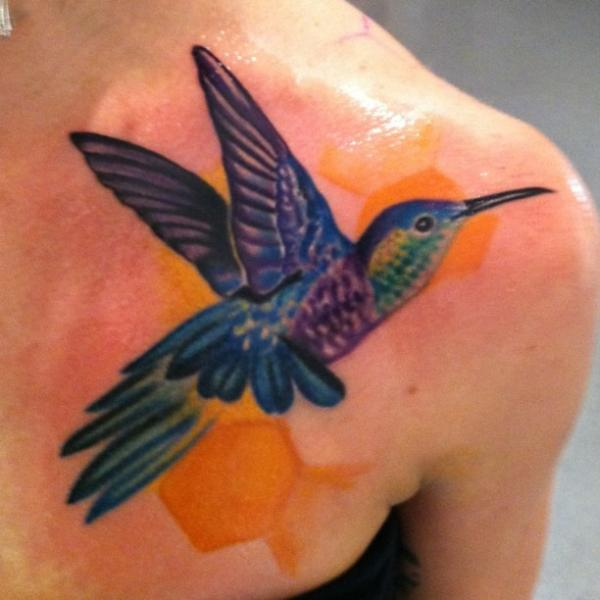 tattoo idid today 35 Cool Hummingbird Tattoos
