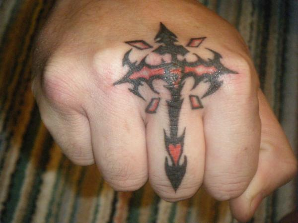 Tribal Cross Knuckle Duster