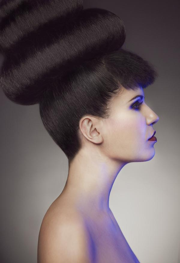 Mushroom Styled Hair With Bang