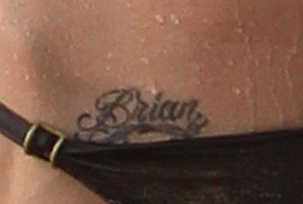 Megan Fox Brian Tattoo