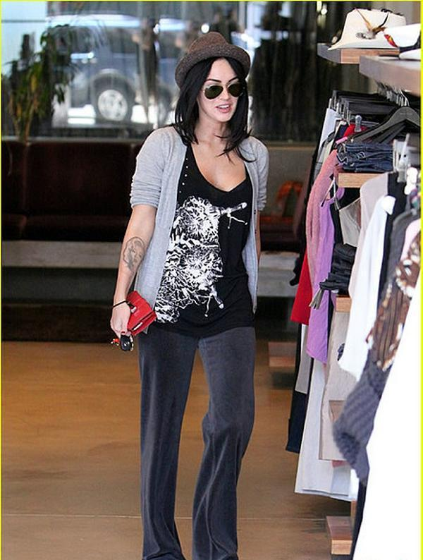Megan Fox While Shopping