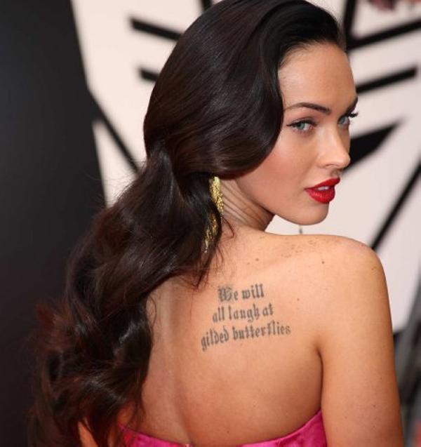 megan fox style 40 Sexy Megan Fox Tattoos