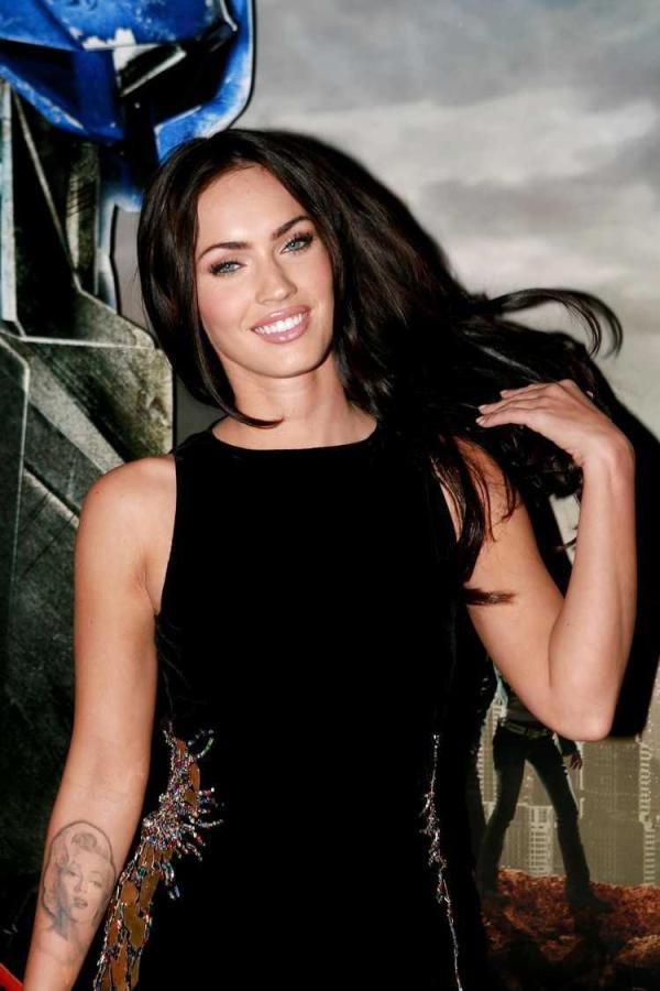 Megan Fox In Black