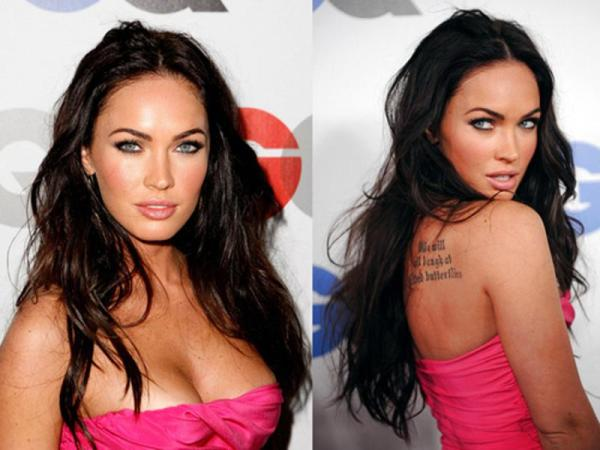 we will 40 Sexy Megan Fox Tattoos
