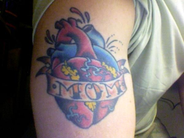 Mom Tattoo On Hand